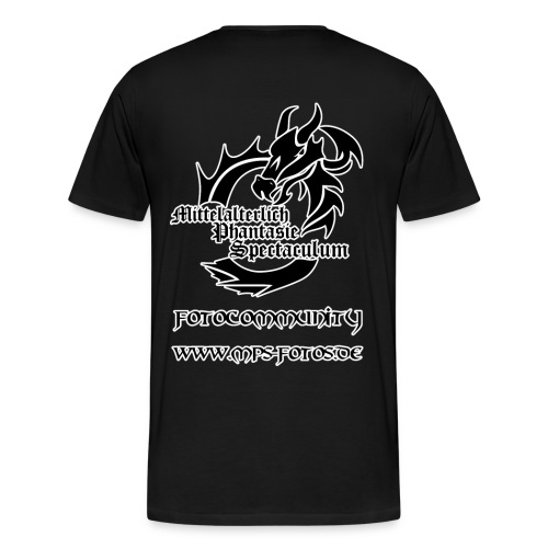 MPS-Fotos Männer einfach bis 5XL T-Shirt - Männer Premium T-Shirt