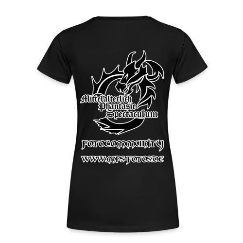 MPS-Fotos Frauen einfach bis 3XL T-Shirt - Frauen Premium T-Shirt