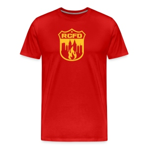 Rising Cities Fire Department - Männer Premium T-Shirt