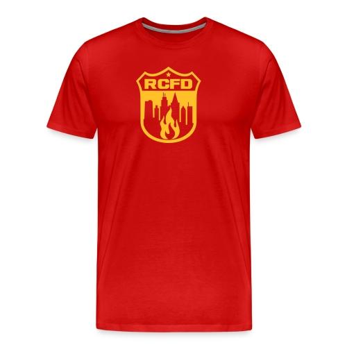 Rising Cities Fire Department - Männer Premium T-Shirt