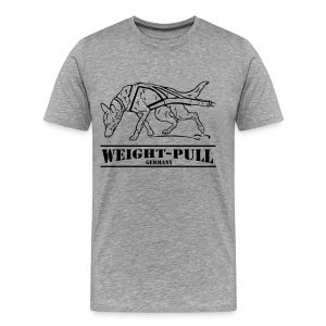 Malinois Weight-Pull - Männer Premium T-Shirt