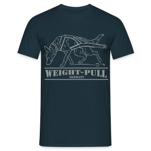 Malinois Weight-Pull - Männer T-Shirt