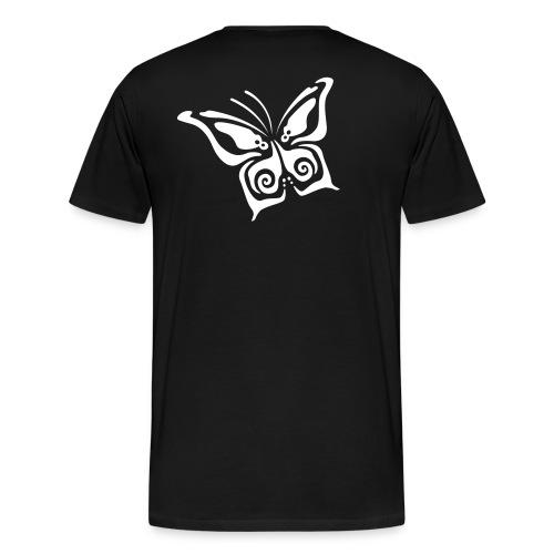 Butterfly - Mayola - Mannen Premium T-shirt