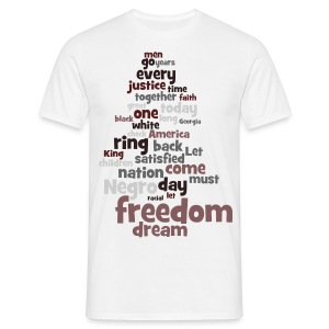 Martin Luther King: I have a dream - T-Shirt - Männer T-Shirt