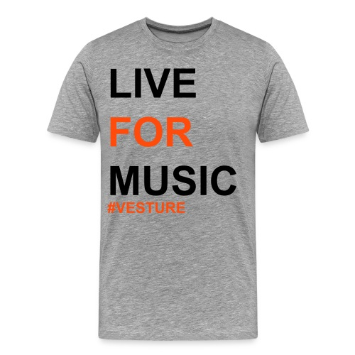 LIVEFORMUSIC - Men's Premium T-Shirt