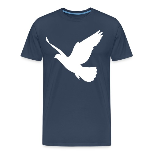 Bird Tee ~ Navy - Men's Premium T-Shirt