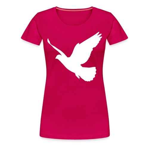 Bird Tee ~ Pink Womens Fit - Women's Premium T-Shirt