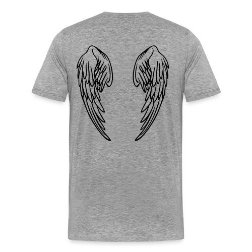 WINGSONBACK - Men's Premium T-Shirt