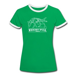 Frauen Kontrast-Shirt Weight-Pull Malinois - Frauen Kontrast-T-Shirt
