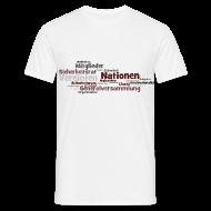 T-Shirts ~ Männer T-Shirt ~ UN-Charta - T-Shirt