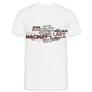 T-Shirts ~ Männer T-Shirt ~ William Shakespeare: Macbeth - T-Shirt
