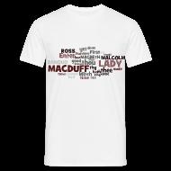 T-Shirts ~ Männer T-Shirt ~ William Shakespeare: Macbeth - T-Shirt