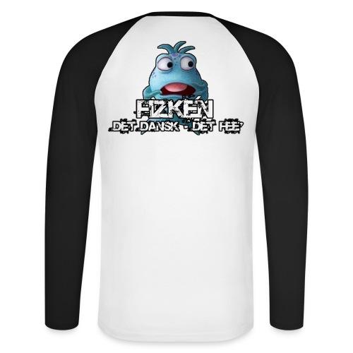 Fizken Trøje - Langærmet herre-baseballshirt
