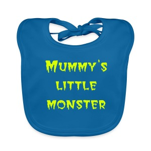 Mummy's Little Monster organic Bib - Baby Organic Bib