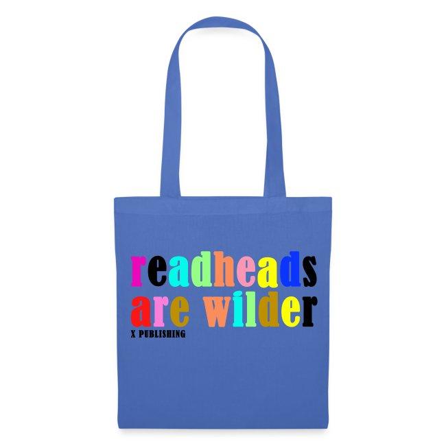 Väska med text - Readheads are wilder / X Publishing