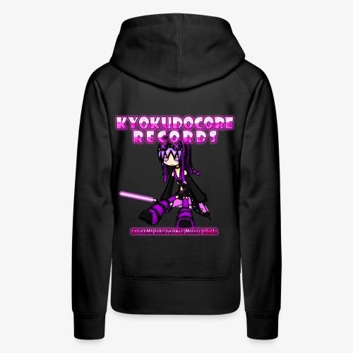 KyokudoCore Records Women's Hoodie - Women's Premium Hoodie