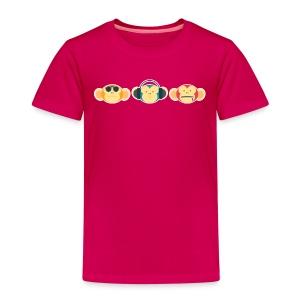 See no, Hear no, Speak no... - Kids' Premium T-Shirt