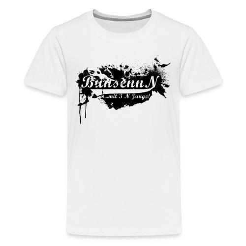 TEENAGER Shirt Schwarz/Weiß - Teenager Premium T-Shirt