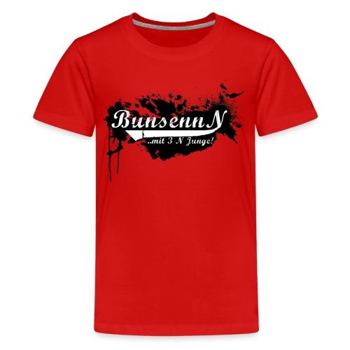 TEENAGER Shirt Rot/Schwarz - Teenager Premium T-Shirt