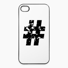 Hashtag (Grunge) Phone & Tablet Cases