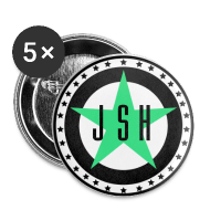 Buttons ~ Buttons small 25 mm ~ JSH Button Set S Logo #13-gb
