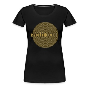 DISC Gold - metallic - Frauen Premium T-Shirt