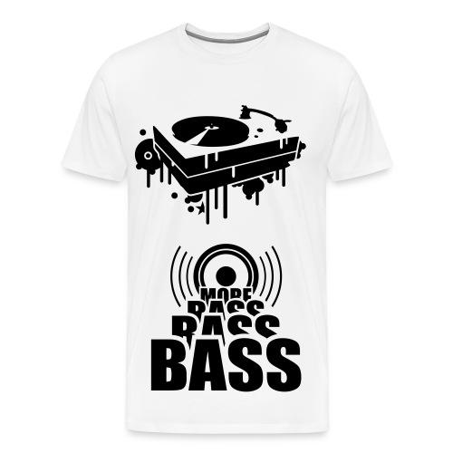 DJ Bass Bass - Men's Premium T-Shirt