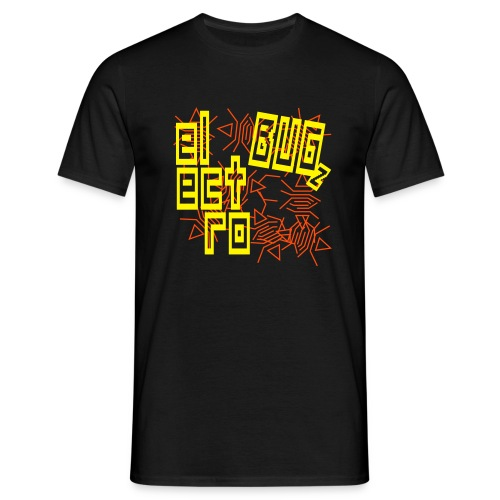 Schwarz electro bugz v1 (© alteerian) T-Shirts - Männer T-Shirt