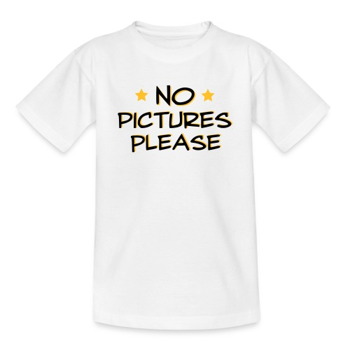 No picture - Teenage T-Shirt
