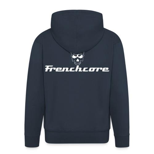 Frenchcore Männer Kapuzenjacke - Männer Premium Kapuzenjacke