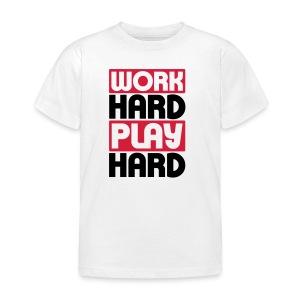 Work Hard - Kids' T-Shirt
