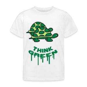 Think Green - Kids' T-Shirt