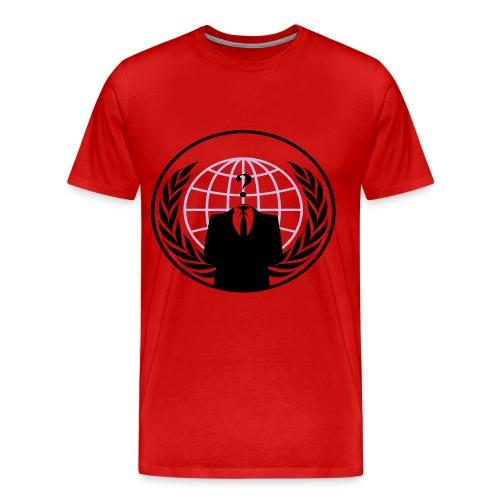 Anonymous T-shirt - T-shirt Premium Homme