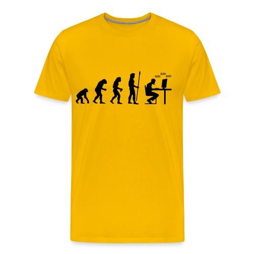 Evolution d'un Progamer - T-shirt Premium Homme