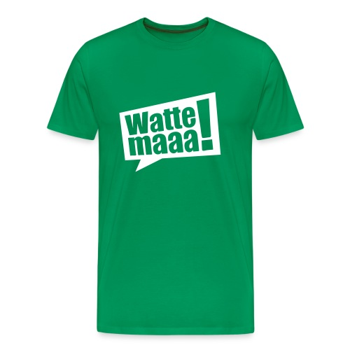 Wattemaaa - Männer Premium T-Shirt