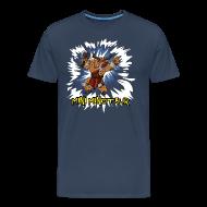 T-Shirts ~ Men's Premium T-Shirt ~ Mini Minotaur (Dark Shirt Design)