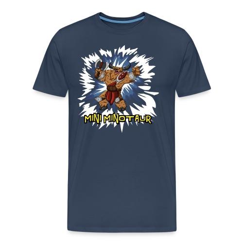 Mini Minotaur (Dark Shirt Design) - Men's Premium T-Shirt