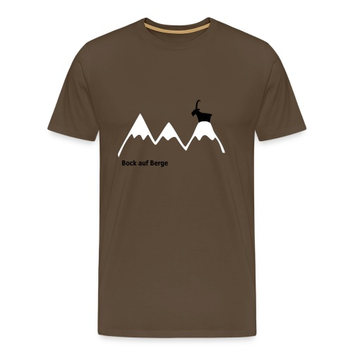 Bock auf Berge (Shirt) - Männer Premium T-Shirt