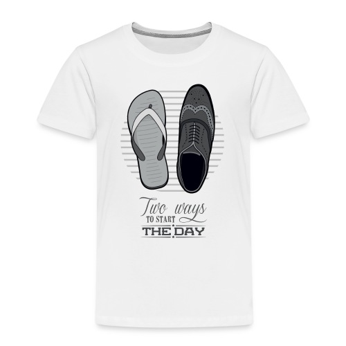 TWO WAYS - T-shirt Premium Enfant