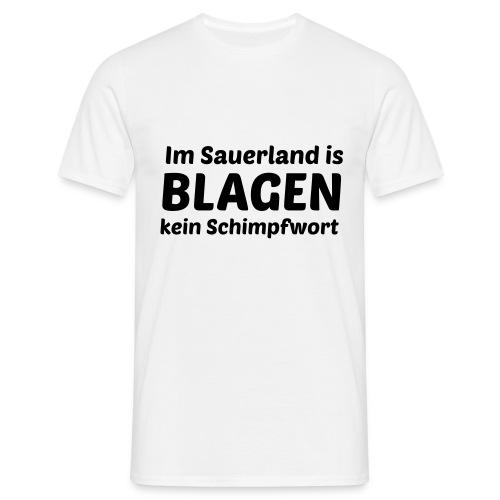 Blagen - Männer T-Shirt