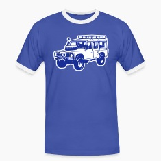 T-shirt: Land Rover Defender, Jeep, SUV