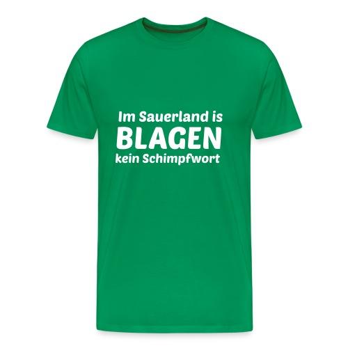 Blagen - Männer Premium T-Shirt