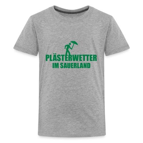 Plästerwetter - Teenager Premium T-Shirt