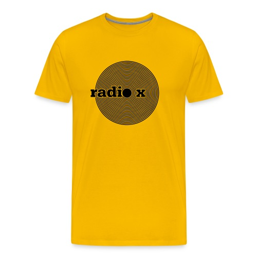 DISC schwarz - Männer Premium T-Shirt