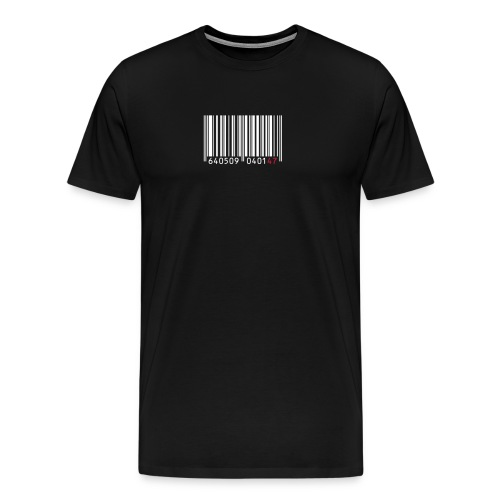 Hemd 'Strichcode 47' - Männer Premium T-Shirt