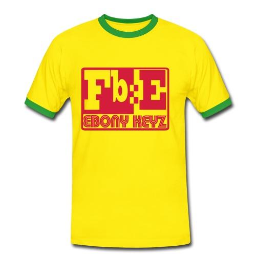 Fb=E - T-shirt contrasté Homme