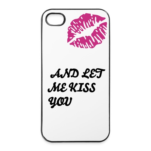 Kiss You iPhone 4/iPhone 4S Case - iPhone 4/4s Hard Case
