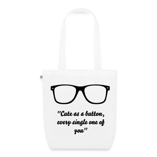 Marcel 'Cute As A Button' Bag - EarthPositive Tote Bag