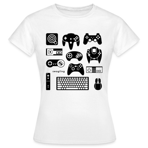 Button Masher  - Women's T-Shirt