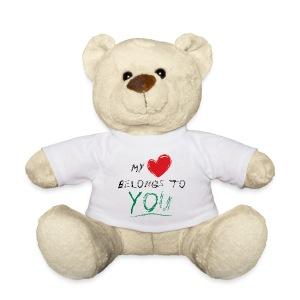 My Heart Belongs To You Bear - Teddy Bear